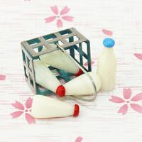 KE_ AU_ KF_ GT- BL_ 1/6 1/12 Miniature Bottle Basket Dollhouse Accessories Pre