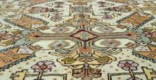 Masterpiece  Antique Muted  Dyes 7x10ft Cross Patterned Wool Pile Hereke Rug