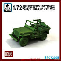 S-model 1/72 SP072005 Willys MB & M1917 MG (1pcs)