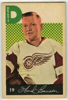 1962-63 Parkhurst #19 Hank Bassen RC VG-EX Condition (041220-01)