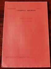 GEORGE GERSHWIN STRIKE UP THE BAND SHEET MUSIC (1970's) PIANO VOCAL RED COVER UK