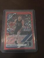 2019 2020 Panini Donruss Optic Luka Doncic Red Wave TMall SP #16 Mavericks