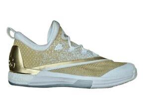 Adidas Crazylight Boost 2.5 ASW Rising Stars PE White Gold Mens 12.5 NIB AQ8021
