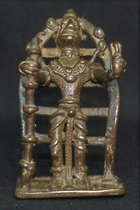 Govinda Bhairava India Siva 2.5 inches Tribal bronze