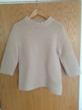 Ted Baker Women's Nude Knitted Jumper Size 3