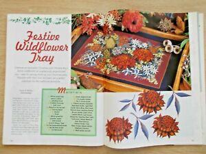 Decorative Folk Art Designs~Tiger Lilies~Farmyard~Teddies~Blue & White~Xmas~1998