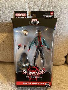 """MILES MORALES Marvel Legends 2020 Spider-Verse Stilt-Man BAF 6"""" Figure 2021"""