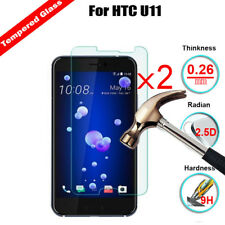 2X Premium Clear 9H+ Tempered Glass Screen Protector Film For For HTC Cell Phone