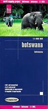 Map of Botwana, Africe  - by Reise Know How