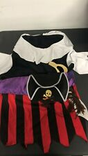 Pirate Doggie Pet Costume Pet Halloween Fancy Dress size S