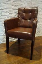 Braun Esszimmerstühle Stuhl  Braun Echt Leder stühle Lederstühle Rindsleder