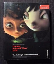 LEARNING AUTODESK MAYA 2008 Modeling & Animation Handbook FVF 7.0 NO DVD
