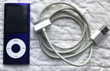 Apple iPod Nano 4th Generation MP3  A1285 Purple 8GB Music Player