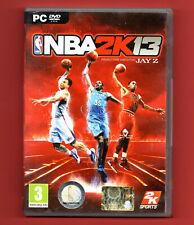 NBA 2K13 PC nuovo non sigillato