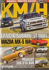 KM/H 49 VAUXHALL MAGNUM  Gr1 BMW M353i E12 MATRA DJET SUBARU IMPREZA DELTA HF IN