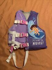 Stearns Dora The Explorer Childs Life Vest Preserver 30-50 pounds