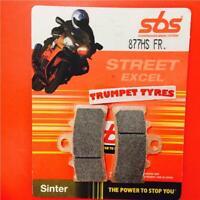 KTM RC 390 14 > ON SBS Front Brake Pads Set Sinter OE QUALITY 877HS