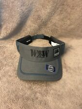 NWT Adidas Climalite Wounded Warriors Gray with blue and Black Adjustable Visor