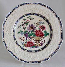 """Crown Ducal Gainsborough CRD19 Dinner Plate 10.5"""" Flowers in Vase 1930s"""