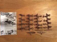 WW2 British commandos 00 scale Airfix soldiers