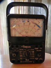 Vintage Simpson 260 Series 7pm Volt Ohm Milliammeter