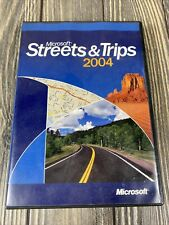 Microsoft Streets And Trips 2004 Computer PC Program
