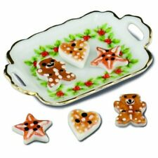 Dollhouse Miniature Reutter Christmas Cookies Tray 1:12 scale F22 Dollys Gallery