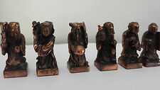 Copper Antique Asian Statues