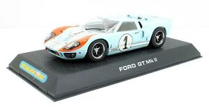 SCALEXTRIC 1:32 SCALE C2464 FORD GT MKII 1966 LE MANS 'NO1'