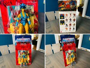 🔥 Masters Of The Universe EVIL-LYN Figure SEALED HE-MAN MOTU Commemorative 🔥