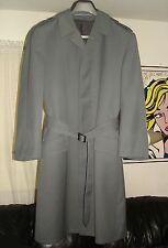Vintage Military dress coat German Uniformwerk trench removable plaid lining Nr