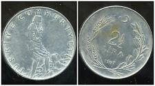 TURQUIE   2 1/2  lira 1967  ( bis )