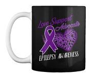 Love Support Advocate Epilepsy T Gift Coffee Mug