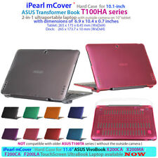"NEW mCover Hard Shell Case for 10.1"" ASUS Transformer Book T100HA Series Tablet"