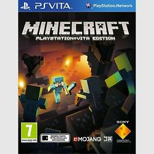 Minecraft PlayStation Vita Edition Sony PlayStation Vita New PS Vita