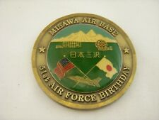 Challenge Coin USAF MISAWA AFB 51st AIR FORCE BIRTHDAY Military Medallion A35
