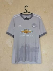 Manchester United 2017 - 2018 3rd third shirt jersey Adidas size L