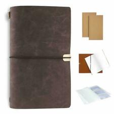 Journal Notebook 4.7x7.9 A5 Durable PU Leather Cover for Travel for Men or Women