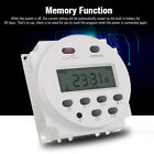 LCD Digital Timer Switch Relay Programmable Power Electronic DC/12V CN101A USA photo