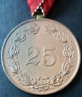 ✚7803✚ Upper Austrian Warrior League medal for 25 years' service post WW2