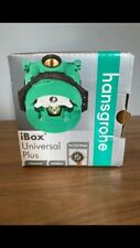 """Hansgrohe 01850181 iBox Universal Plus Rough Valve with Stops, 3/4"""" Rough-In"""
