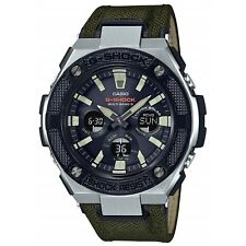 Casio G-Shock G-STEEL GST-W330AC-3AJF MILITARY STREET Solar Watch GST-W330AC-3A