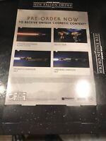 Star Wars JedI: FALLEN ORDER GameStop Exclusive Promo Poster Box