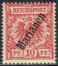 ORIG. 1899 1900 GERMAN COLONY MARIANA ISLANDS STAMP MINT UNMOUNTED RARE GERMANY