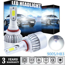 2Pcs For Toyota Auris 2006-2012 High Main Beam 9005 HB3 Xenon LED Headlight Bulb