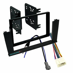 95-7863 Car Stereo Double Din Mount & Wires for Element, Radio Install Dash Kit