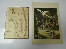 1952 SOU WESTERCON Science Fiction Convention Program & Booklet SUPER RARE! FN-