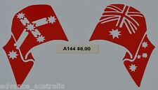 Eureka flag and Australian Flag - A144