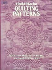 Quilting Patterns by Linda Macho - 110 full-size ready-to-use patterns, NEW PB