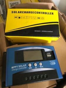 TEMPSA 30A MPPT Régulateur Contrôleur Pr Solaire Panneau Batterie 12-24V